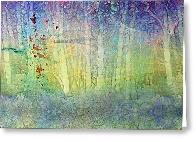 The Ghost Forest Greeting Card