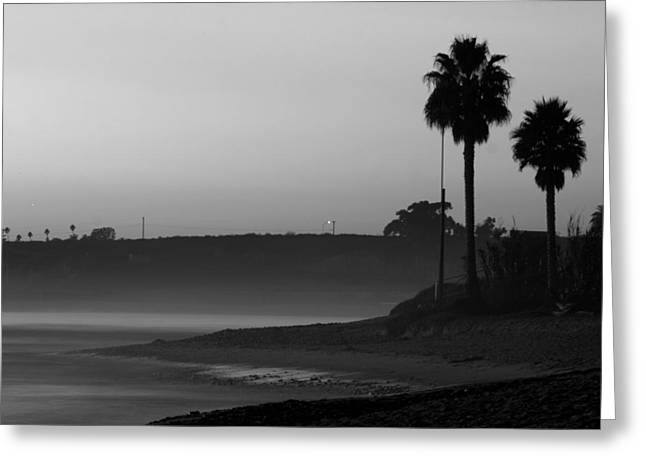 The Ghost Tide Of San Onofre  Greeting Card by Brad Scott