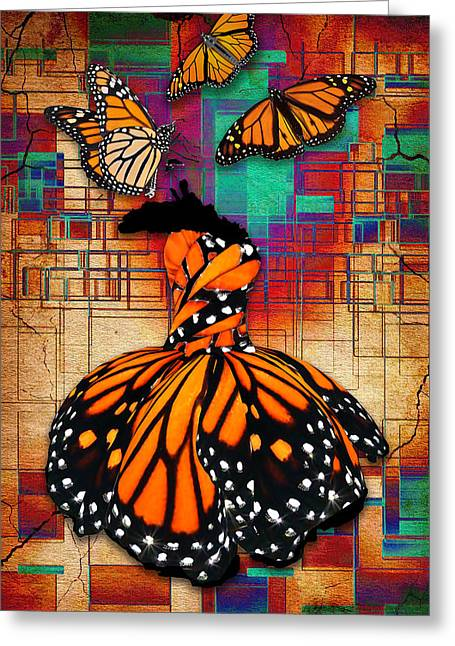 Greeting Card featuring the mixed media The Gift Of Life by Marvin Blaine