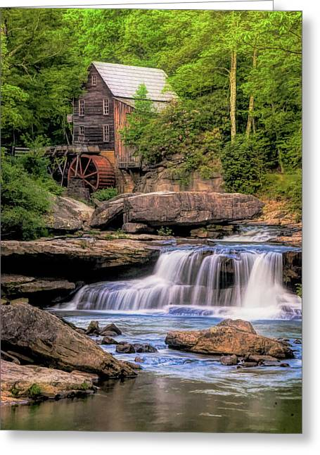 The Glade Creek Mill Greeting Card