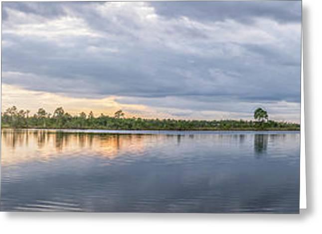 The Glades Lake Greeting Card