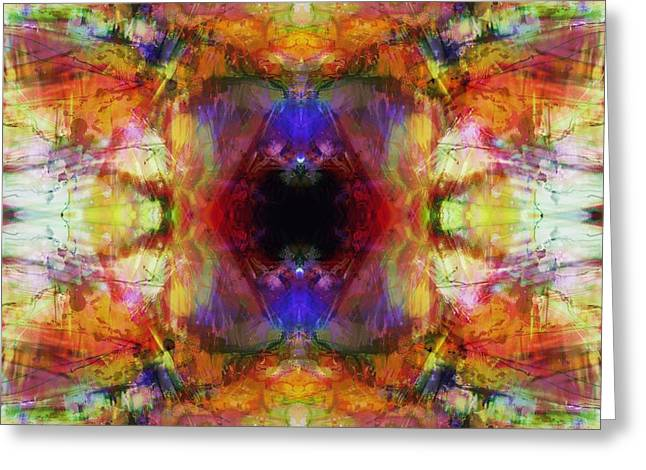 The Glass Dream Greeting Card by Keith Mills