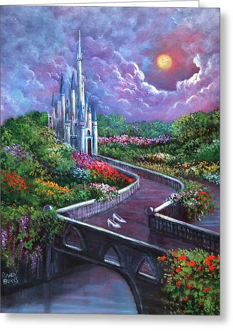The Glass Slippers Greeting Card