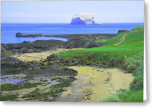 The Glen Golf Club Hole #13 Greeting Card by Scott Carda