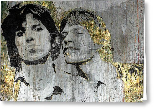 The Glimmer Twins Greeting Card