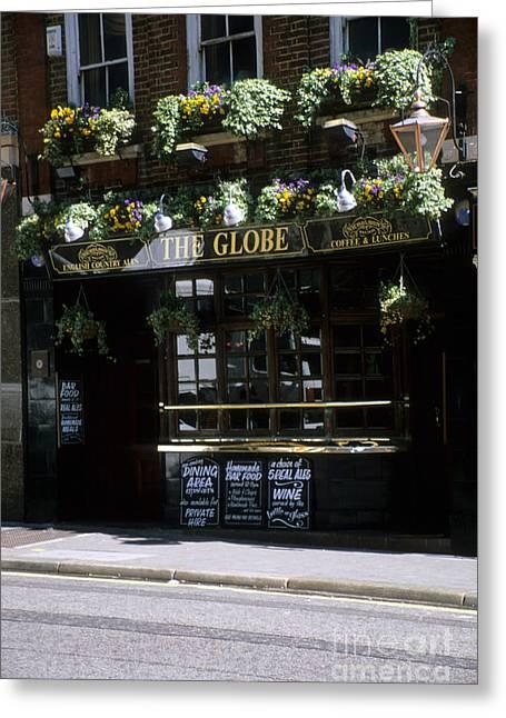 The Globe Pube Greeting Card by Robert  Torkomian