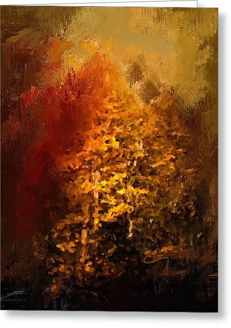 The Glory Of Autumn Greeting Card by Jai Johnson