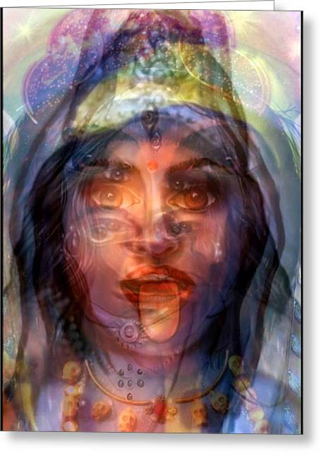 The Goddesses Within You Greeting Card by Carmen Cordova