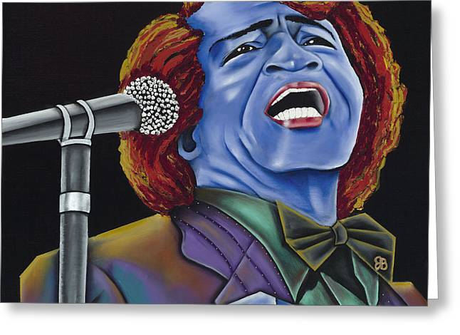 Pop Singer Greeting Cards - The Godfather Greeting Card by Nannette Harris