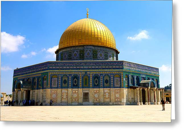 The Gold Dome Greeting Card by Heidi Pix