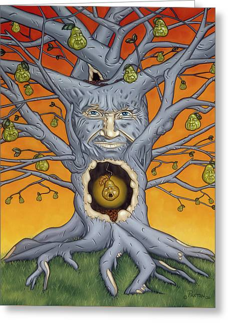 The Golden Pear Greeting Card