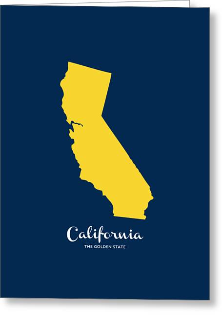 The Golden State Greeting Card by Nancy Ingersoll