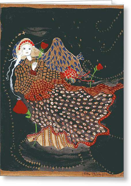 The Good Night Angel Greeting Card
