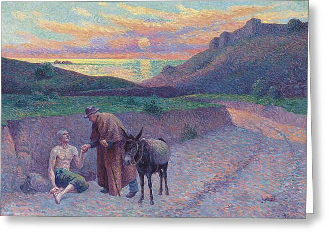 The Good Samaritan Greeting Card