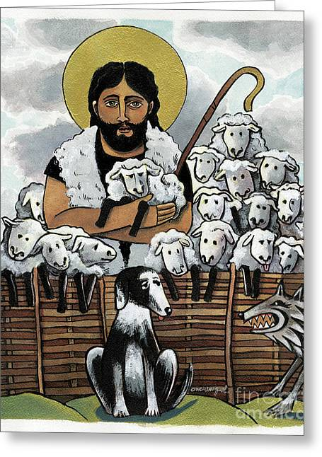 The Good Shepherd - Mmgoh Greeting Card