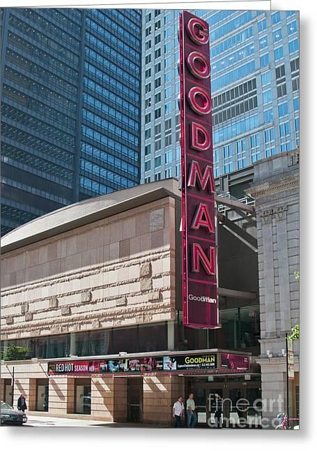 The Goodman Theater Greeting Card