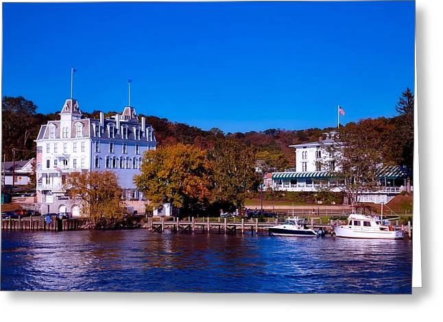 The Goodspeed Opera House Greeting Card by L O C