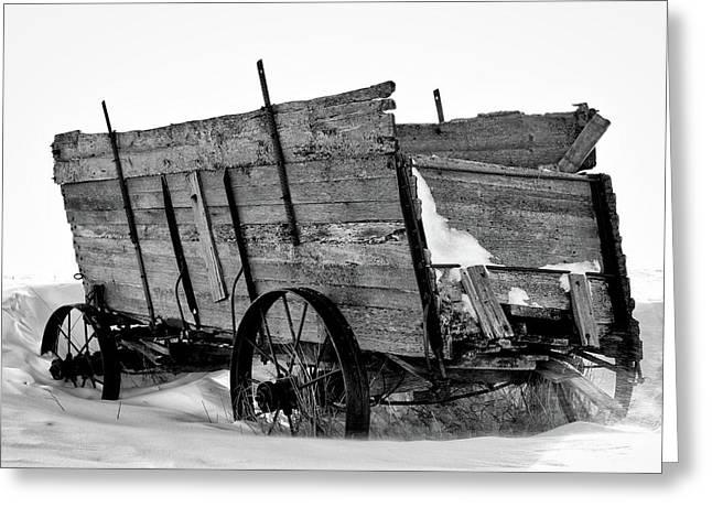 The Grain Wagon Greeting Card