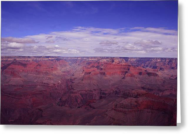 The Grand Canyon Greeting Card by Christopher Kirby