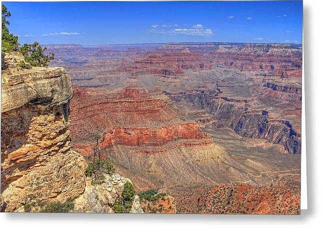 The Grand Canyon Greeting Card by Donna Kennedy