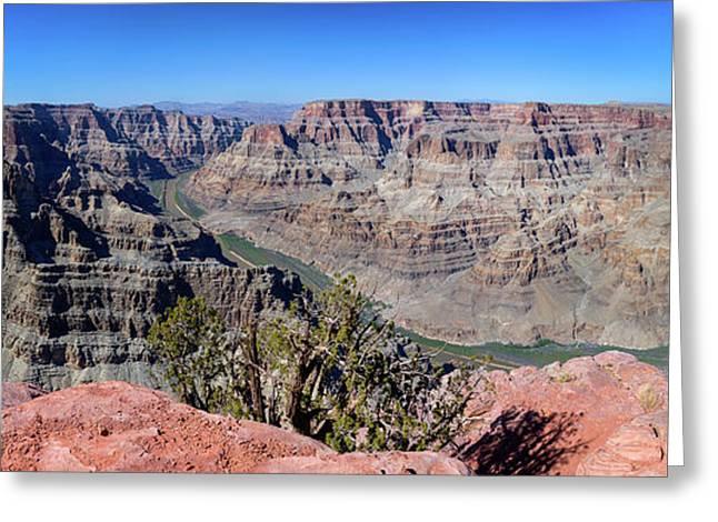 The Grand Canyon Panorama Greeting Card
