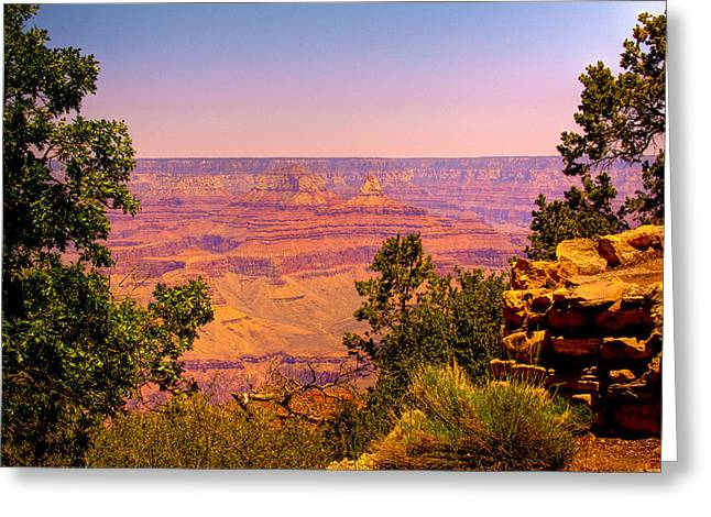 The Grand Canyon Vi Greeting Card by David Patterson