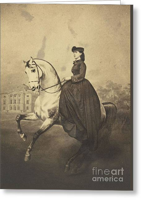 The Grand Duchess Alexandra Greeting Card by MotionAge Designs