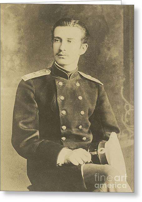 The Grand Duke Nikolai  Greeting Card