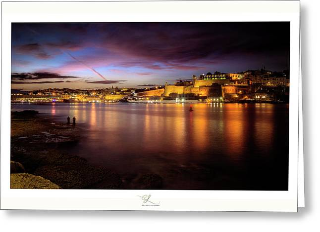 The Grand Harbour Greeting Card