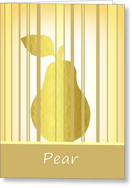 The Grand Pear Greeting Card