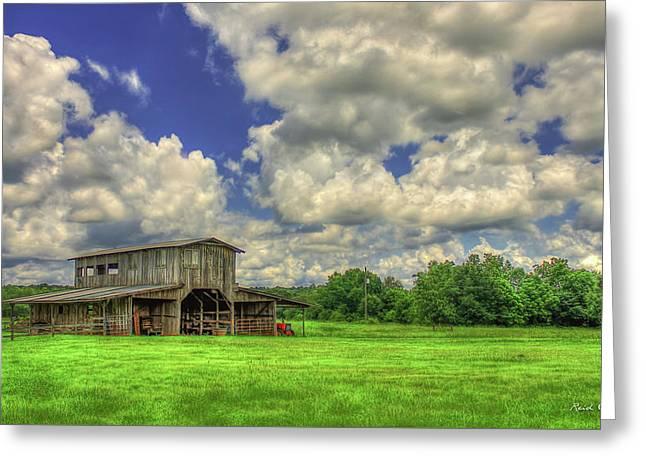 The Gray Barn Prospect Community Morgan County Georgia Greeting Card