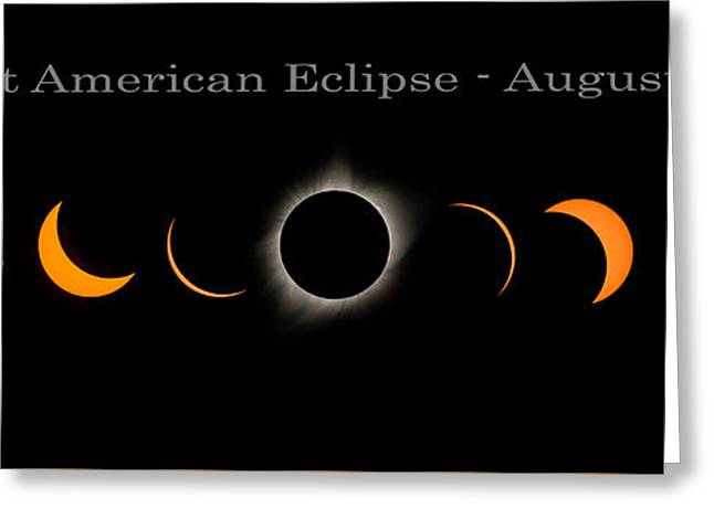 The Great American Eclipse Of 2017 Greeting Card