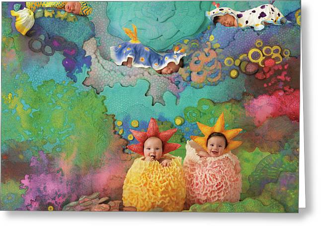 The Great Barrier Reef Greeting Card by Anne Geddes