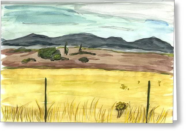 The Great Basin Utah Greeting Card by Kevin Callahan