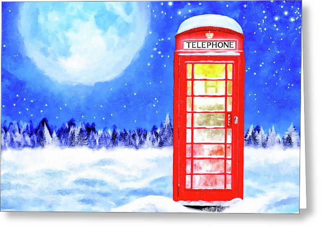 The Great British Winter Greeting Card by Mark Tisdale