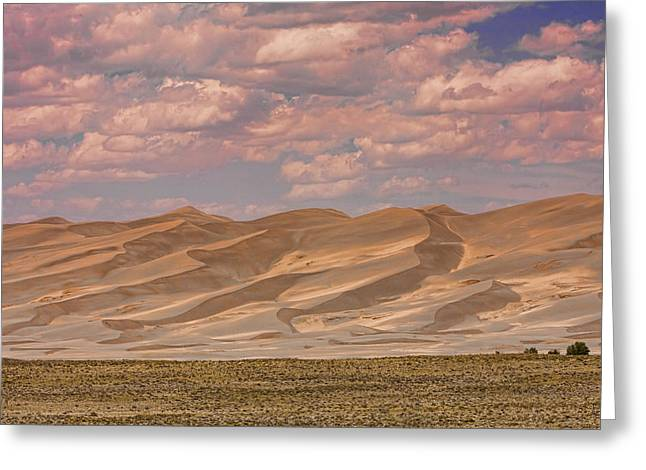 The Great Colorado Sand Dunes  177 Greeting Card