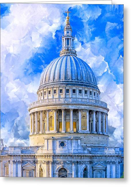 The Great Dome - St Paul's Cathedral Greeting Card