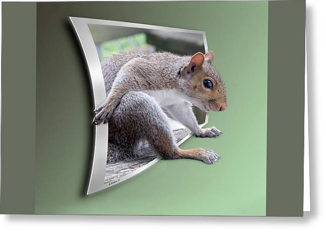 The Great Escape Greeting Card by Brian Wallace