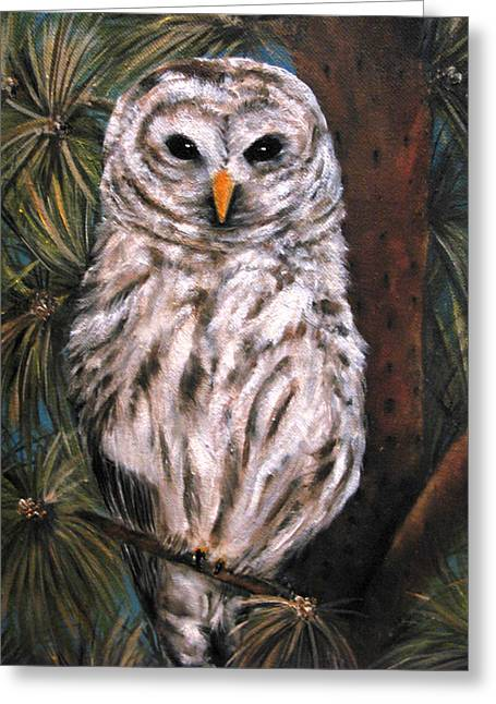 The Great Hunter Greeting Card by Carol Sweetwood