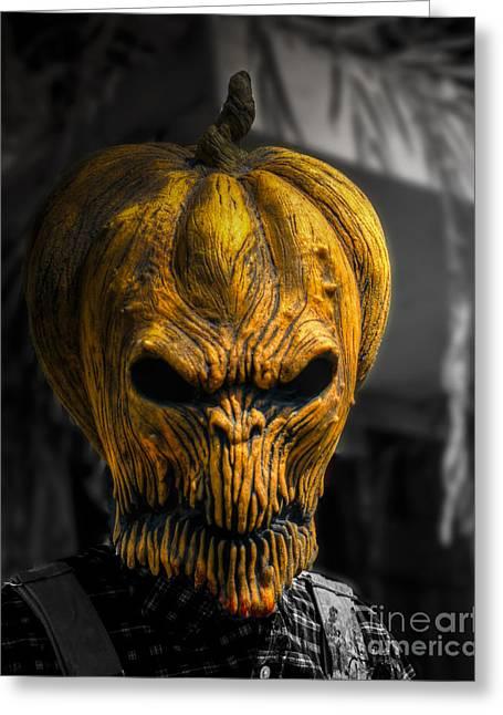 The Great Pumpkin Greeting Card by Jeffrey Miklush