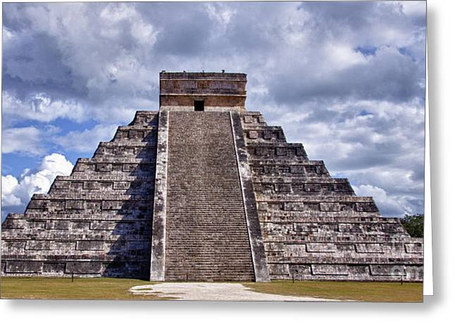 The Great Pyramid Of Chitzen Itza Greeting Card