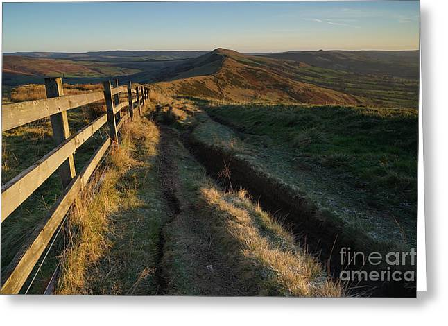 The Great Ridge Greeting Card by Nichola Denny