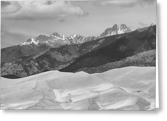 The Great Sand Dunes Bw Print 45 Greeting Card by James BO  Insogna