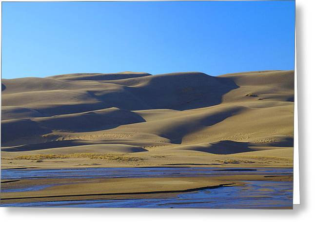 The Great Sand Dunes Up Close Greeting Card