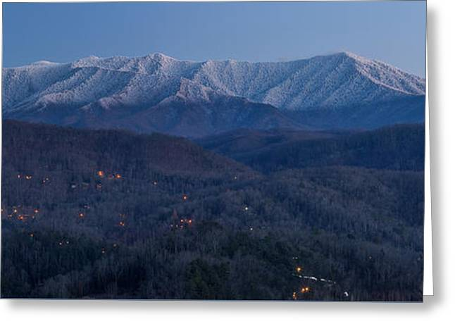 The Great Smoky Mountains Greeting Card by Everet Regal