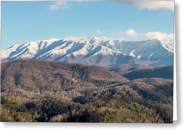 The Great Smoky Mountains II Greeting Card by Everet Regal