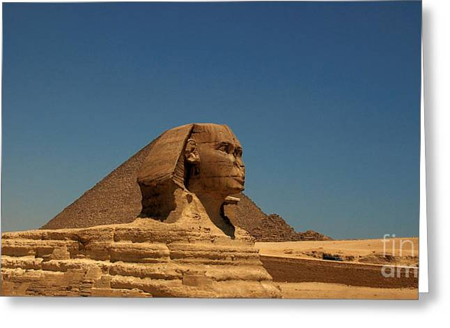 The Great Sphinx Of Giza 2 Greeting Card by Joe  Ng