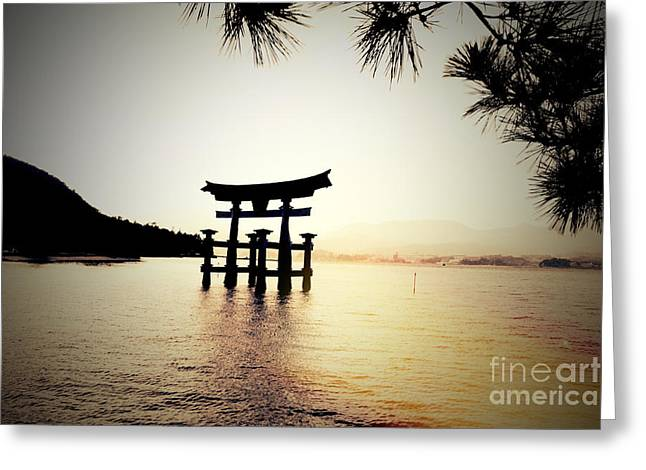 The Great Torii  Greeting Card