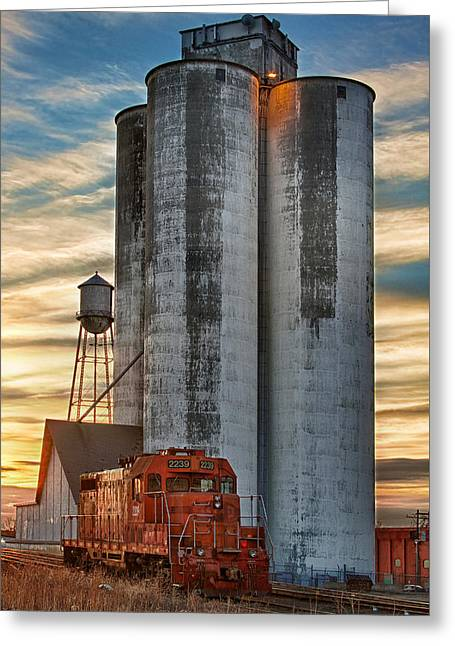 The Great Western Sugar Mill Longmont Colorado Greeting Card by James BO  Insogna