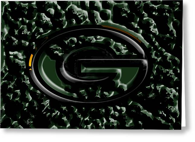 The Green Bay Packers 2b Greeting Card by Brian Reaves